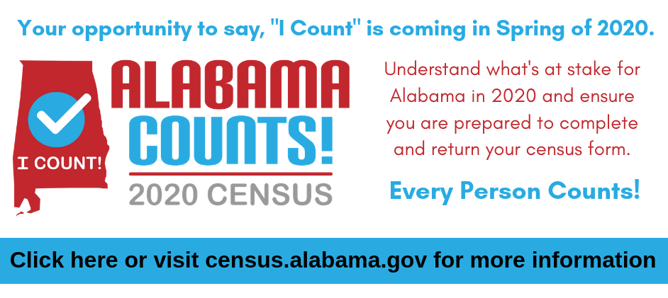 Importance of Alabama's 2020 Census