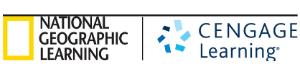 National Geographic Cengage Logo